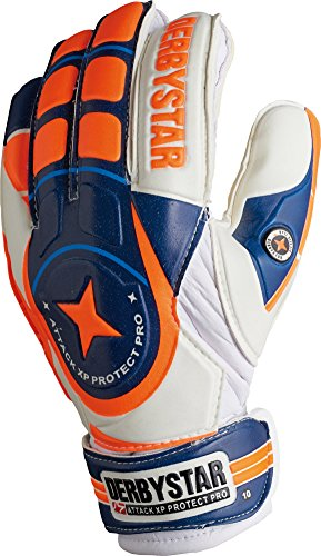 Derbystar Attack XP Protect Pro, 8, weiß navy orange, 2649080000